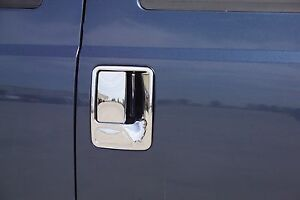 Chrome Door Handle Covers Fits Ford F250/350/450 Super Duty 1999-2016 4 Door