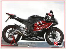Kit Carena Completa ABS Verniciata Yamaha R6 2006 2007 Replica Santander Black