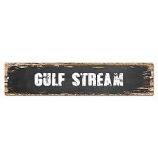 SP0334 GULF STREAM Street Sign Bar Store Cafe Home Kitchen Chic Decor Gift