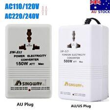 150W/500W 110V to 240V AC Step Up&Down Power Converter Voltage AU Transformer