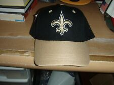 Drew Brees personalized #9  New Orleans Saints Black & Gold   NFL Hat  New