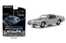 1979 PONTIAC FIREBIRD T/A SILVER 1/64 DIECAST MODEL CAR BY GREENLIGHT 27940 D