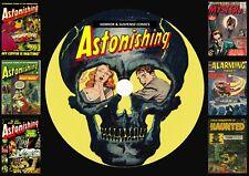 Astonishing Horror & Suspense Comics On DVD Rom