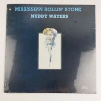 Muddy Waters Mississippi Rollin' Stone LP 1981 Sealed Stack-o-Hits NEW MINT