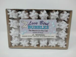 Love Bird Wedding Party Bubbles Doves 24 Count Wand Is The Doves