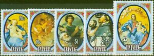 Niue 1993 Christmas set of 5 SG774-778 V.F.U