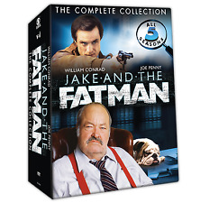 Jake And The Fatman: Complete TV Series Seasons 1 2 3 4 5 Boxed DVD Set NEW!