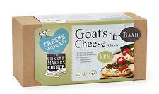 Fromage maker's choice fromage de chèvre making kit 12 x 500g avec équipement pour plus