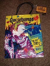 Vintage Hallmark Goosebumps RL Stein Gift Bag Sack Spooky Sound Birthday Mint