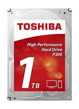 1TB Toshiba P300 3.5-inch SATA III 6Gbps 64MB Cache Internal Hard Drive