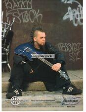 2004 Ibanez SZ 320 qmbbl Gitarre Barry STOCK VTG Printanzeige