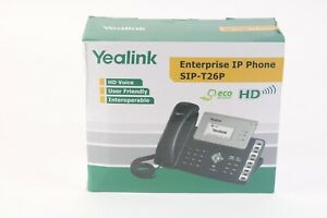 Yealink SIP-T26P Advanced IP Phone With POE