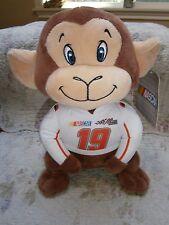 NWT Kelly Toy Nascar Monkey #19 2017 Joe Gibbs Racing Carl Edwards