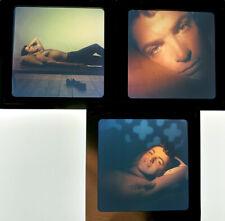 1963 Gay Icon BOBBY DRIVAS 3 Original Photo Transparencies by Van Williams