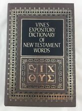 Vines Expository Dictionary of New Testament Words W. E. Vine Hardcover Q1