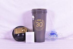 Blender Bottle Optimum Nutrition Classic 28 oz Black & Gold Shaker Mixer Cup