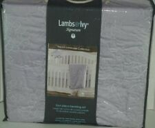 Lambs & Ivy Signature Girls French Lavender Collection 4pc Bedding Set