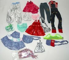 Lot of 15 Top Blouse Skirt Pants Purse for Barbie Doll Repro Clothes Accessory