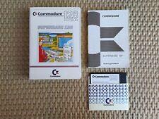Commodore Superbase 128 + Commodore Superscript 128 German versions working