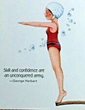 New ListingMary Engelbreit Handmade Magnets-Skill And Confidence