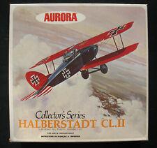 AURORA 1136-260 - HALBERSTADT CL. II + Display Base - 1:48 - Modellbausatz Kit