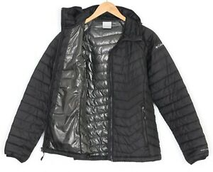 COLUMBIA OMNI-HEAT Quilted Hooded Padded Jacket Women Size M MJ2556