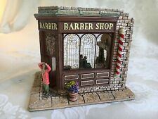 """Lilliput Lane miniature L2200 """"Short Back and Sides?"""" in original box with deed"""