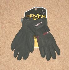 NEW DEMON  LADIES SNOWBOARD/SKI  GLOVES (SMALL) BLACK