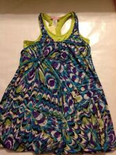 Pink Ginger Girls Size 14 Purple, Turquoise And Green Tunic Nwt