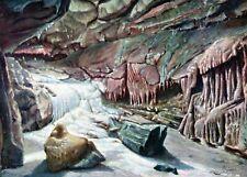 Cheddar, The Frozen River, Goughs Cave - Postcard