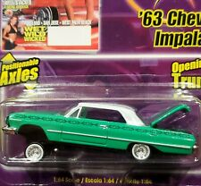 63 1963 Chevy Impala Lowrider Magazine Chevrolet Revell Collectible Car Grn Vhtf