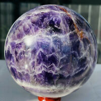 Natural Dreamy Amethyst Sphere Quartz Crystal Ball Healing 1138g