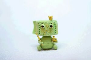 Toilet paper interior doll, Funny amigurumi quarantine gift, housewarming gift