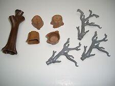 Playmobil: viele Baumstämme zum Erweitern / Ergänzen