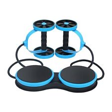 AB Wheel Roller Exercise With Resistance Trainer Band, AB Double Wheel Xtreme