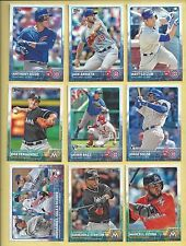 2015 Topps #150 Giancarlo Stanton - 25 card lot - Great Flea Market Inventory!!