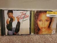 Lot of 2 Toni Braxton CDs: Secrets, self-titled