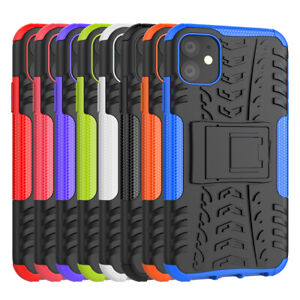Extreme Rugged Case for iPhone 11 Hybrid Armor Shockproof Dazzle Cover