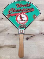 Vintage 1982 St. Louis Cardinals Champions World Series Mlb Hand Held Fan
