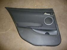 2009 PONTIAC G8 Black w/ Silver Trim Driver Left Rear Door Panel #19790 MORAD