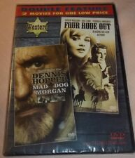 Mad Dog Morgan / Four Rode Out (DVD, Slim Case, Double Feature) New Unopened!
