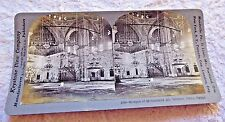 STEREOVIEW PHOTO EGYPT CAIRO MOSQUE MOHAMMED ALI INTERIOR