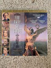 Far Away, So Close Widescreen Laserdisc Music Of U2 & Lou Reed