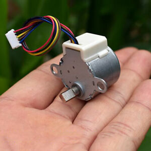 24BYJ DC 12V 4 Phase 5 Wire Gear Stepper Motor Micro Reduction Stepping Motor