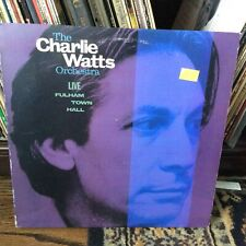 The Charlie Watts Orchestra Live Fulham Town Hall 1986 FC 40570 PROMO LP