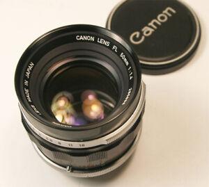 Canon FL 50mm f1.4 manual focus lens for FL Mount. Super Clean  #2