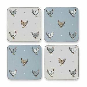 Farmers kitchen Pack of 4 Coasters Cooksmart