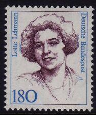 W Germania 1986-94 famose donne 180pF lotte LEHMANN SG 2163 MNH