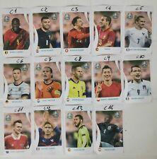 UEFA EURO 2020 PANINI EDITION STICKERS FIGURINE COCA COLA  A SCELTA (C1-C14)
