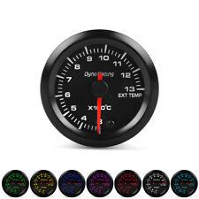 "2"" 52mm 7 Color LED Car Exhaust Gas Temp Gauge Meter 300-1300℃ High Speed Motor"